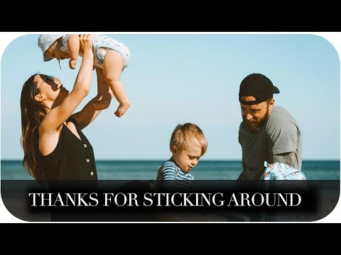 THANKS FOR STICKING AROUND | THE MICHALAKS