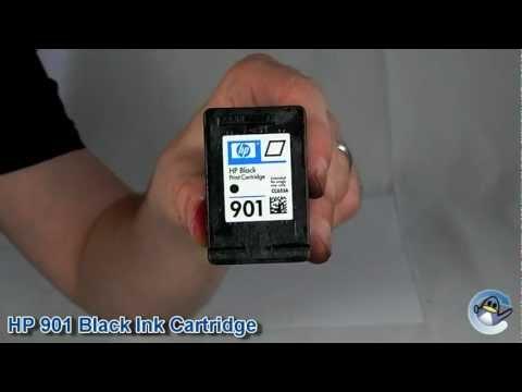 Inside HP 901 Black Ink Cartridge