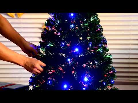 Aosom UK: HOMCOM 4ft Green Artificial Christmas Tree