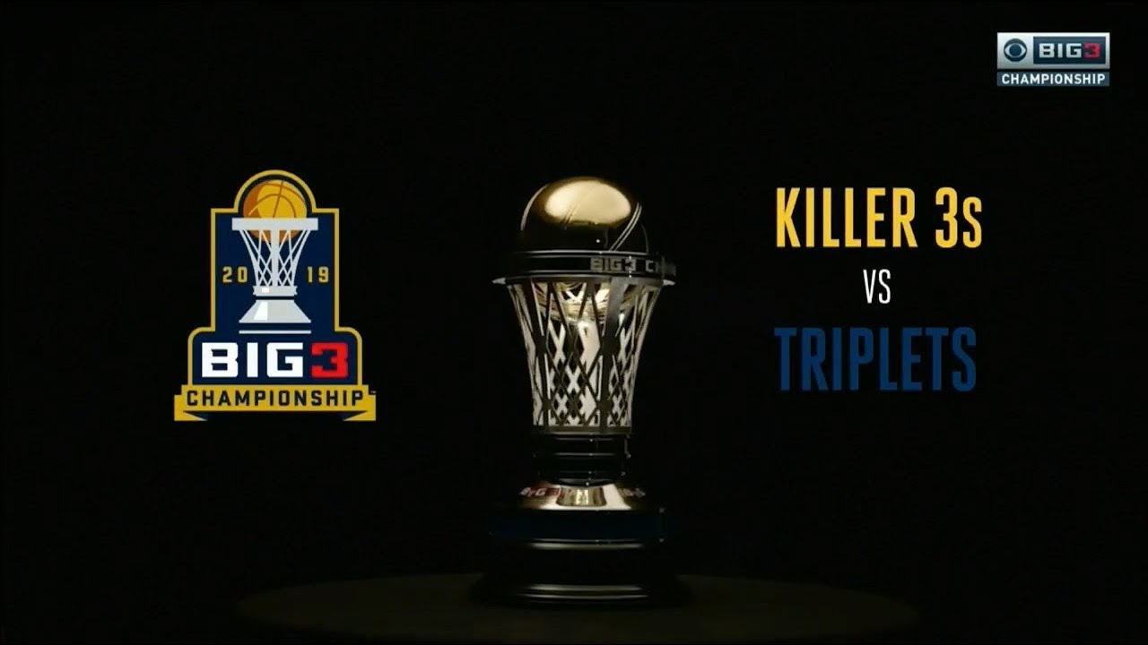 Big3 Season 3 Championship Game: Killer 3's Vs Triplets