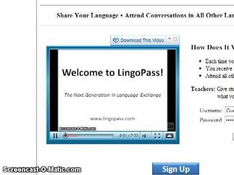 Language Exchange: Facebook App