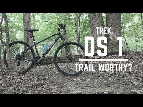 Trek DS 1 - Can It handle a mountain bike trail?
