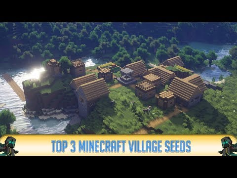 Minecraft: TOP 3 Village Seeds (Minecraft 1.12.2) | Best Minecraft PC Seeds | 2018
