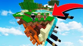 YOUTUBERS VS SMALLEST MINECRAFT ISLAND!
