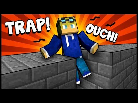 SQUISHED TO DEATH TRAP! - Minecraft Tutorial