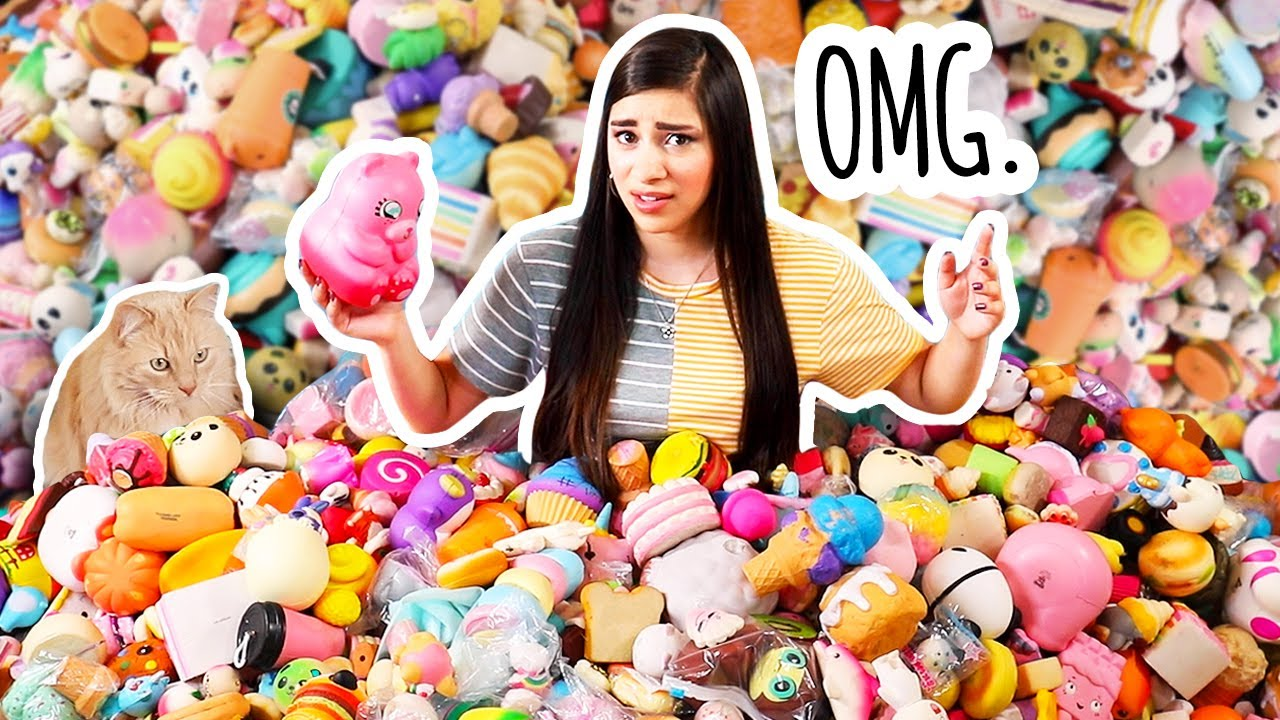 Sorting My Squishy Collection. YIKES.