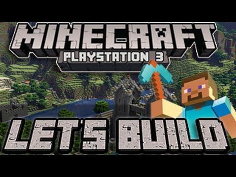 Minecraft PS3 - Hunger Games (Let's Build - Episode 2)