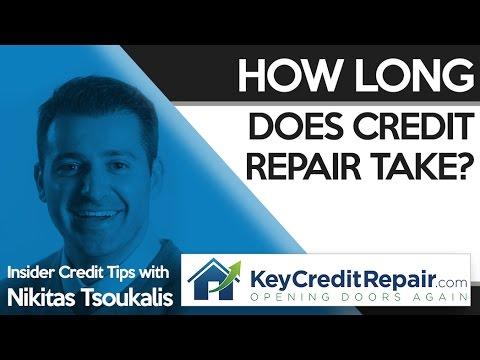 Key Credit Repair: How Long Does Credit Repair Take?
