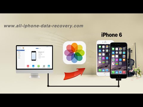 How to Transfer Photos from Computer to iPhone 6S Plus/6 Plus, Pictures to iPhone 6S