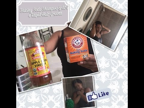 Baking Soda Shampoo| ACV| For Rapid Hair Growth