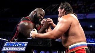 Mark Henry vs. Rusev - International Arm Wrestling Contest: SmackDown, September 12, 2014