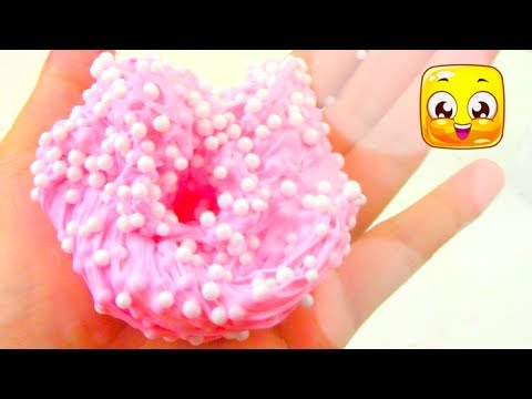Bubblegum Floam Slime without Borax! How To Soft Serve Fluffy Slime with Shaving Cream! DIY!