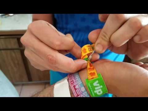 How to remove coachella wristband (2017)
