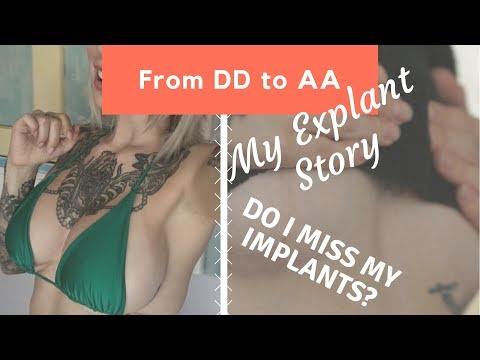 From DD to AA - Do I Miss Having Breast Implants? Explant and Illness Explained