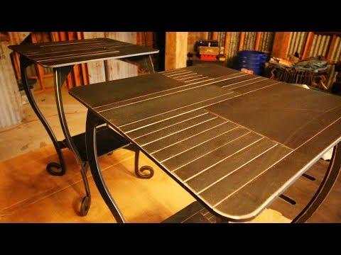 Nightstand Tables - CNC Plasma Cut