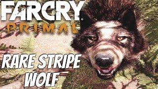 Far Cry Primal - Rare Stripe Wolf Location