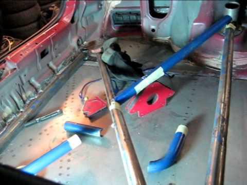 DIY Rear Strut Bar Honda Civic Coupe EJ6