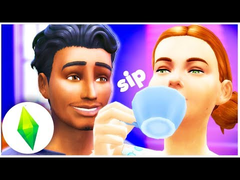 WE STINK ON OUR FIRST DATE. SERIOUS TEA! | Let's Play The Sims 4 [ Part 5 ]