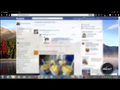 How To Change Facebook Home Screen Background