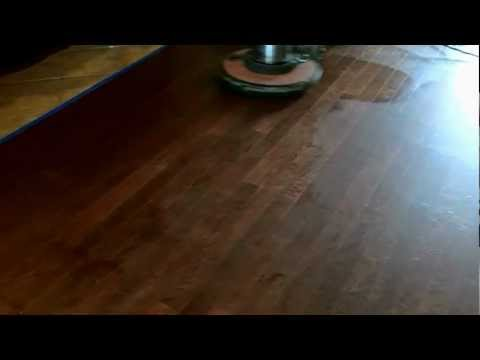 Oak Engineered Wood Floor Recoat