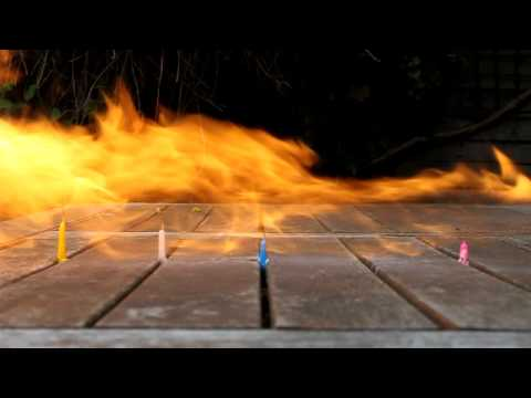 Deodorant Flame thrower