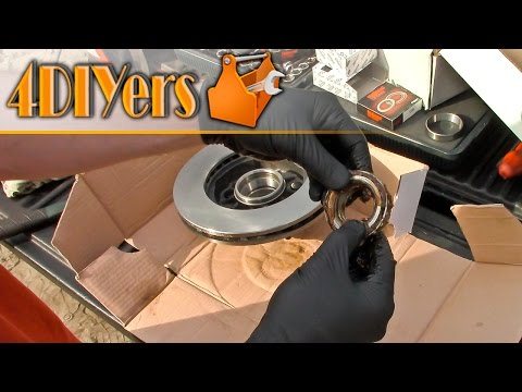 DIY: Ford Ranger 2wd Front Wheel Bearing Replacement