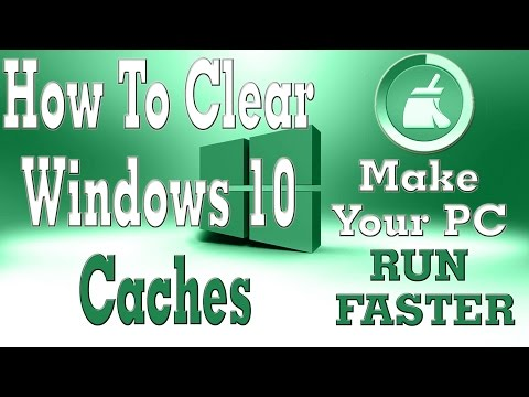 How to Clear All Caches and Free Up Disk Space in Windows 10 | Make Your PC Run Faster
