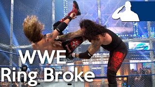 5 Times The WWE Ring Broke