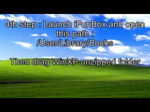 How-to install Windows XP on iPad or iPhone