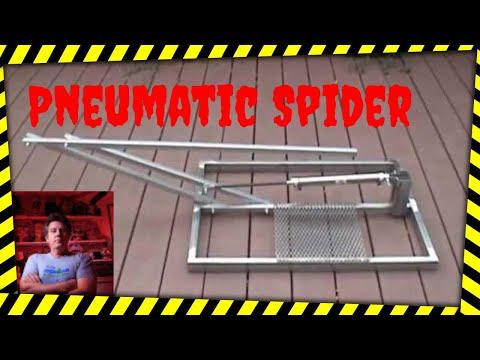 DIY Pneumatic Halloween Prop, the Spider Leaper