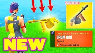 Download *NEW* DRUM GUN GAMEPLAY in Fortnite - Fortnite Epic & Funny Moments Video
