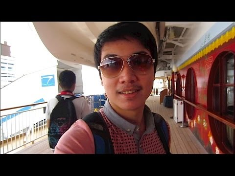 Vlog #34 : DAY 1 in SINGAPORE! Boarding Star Cruises Superstar Virgo (10/27/13)
