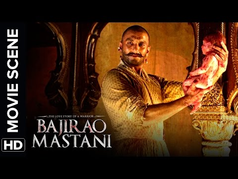 Ranveer Assists Deepika In The Birth Of A Warrior | Bajirao Mastani | Movie Scene