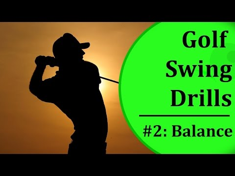 Basic Golf Swing Drills - #2: Balance | Learn-To-Golf.com