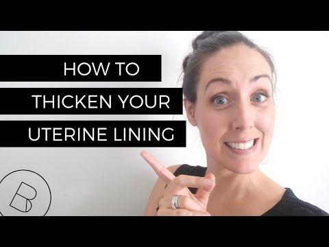How to Thicken Your Uterine Lining   TTC, IVF, ICSI, IUI