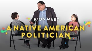 Kids Meet a Native American Politician | Kids Meet | HiHo Kids