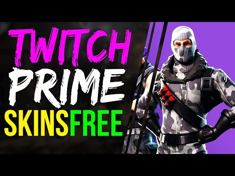 How to get TWITCH PRIME SKINS FOR FREE Fortnite Battle Royale - How to GET TWITCH SKINS & REDEEM