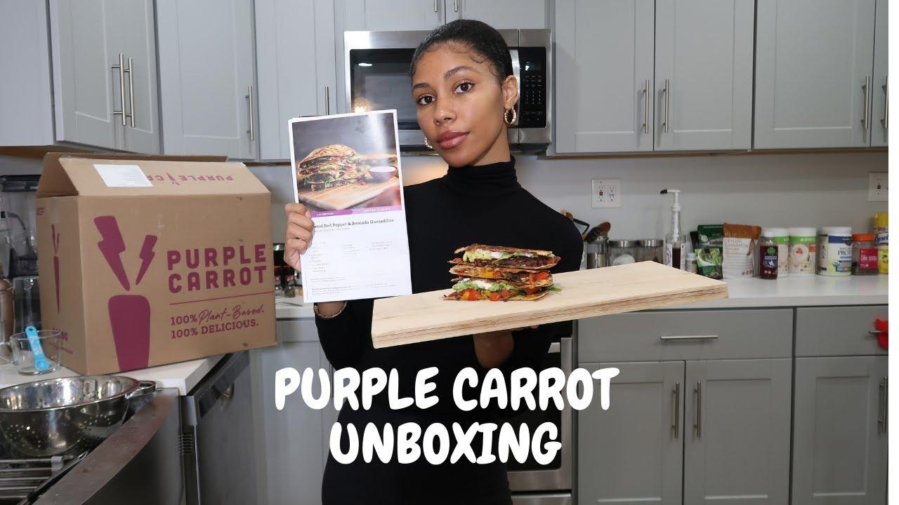 PURPLE CARROT | Nailed It! Vegan Quesadillas