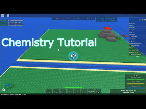 Roblox: Chemistry Tutorial - Survival 303 -