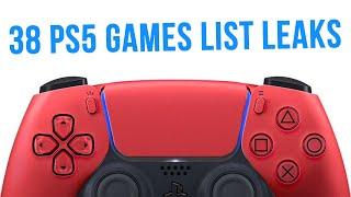 38 NEW PS5 Games CONFIRMED? SEGA'S Top Secret Plans, & More