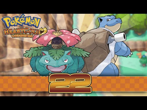 Pokemon HeartGold - Part 22 - Welcome to Kanto!