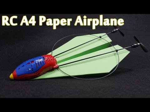 RC A4 Paper Airplane