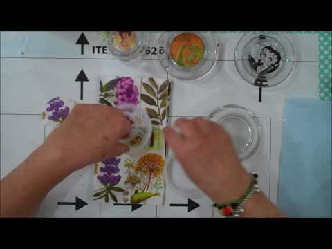 Repurposed Glass Jar Lids