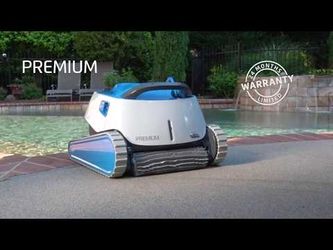 Maytronics Dolphin Premium Robotic Pool Cleaner - Feature Overview Video