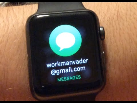 Apple watch Messaging Review!!!!