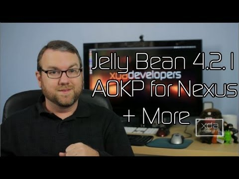 Jelly Bean 4.2.1 AOKP for Nexus Available, Free Android Backup and Kernel Config Apps