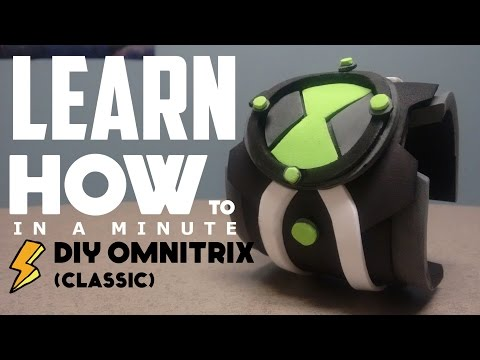 DIY Omnitrix: Learn How To In A Minute
