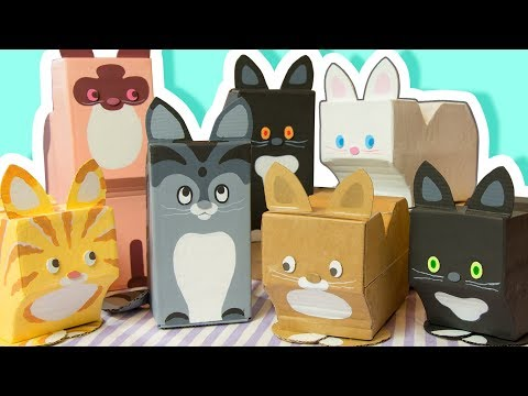 DIY Decorate your Room with Cats - Cardboard Crafts to Make at Home | Easy Craft Ideas for Everyone