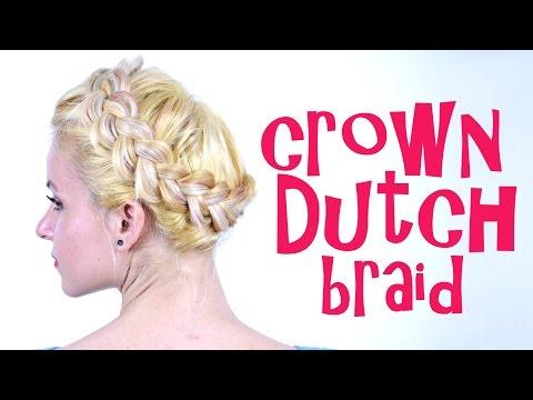 Crown Dutch Braid