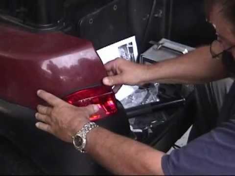 Precedent golf cart Light Kit Installation